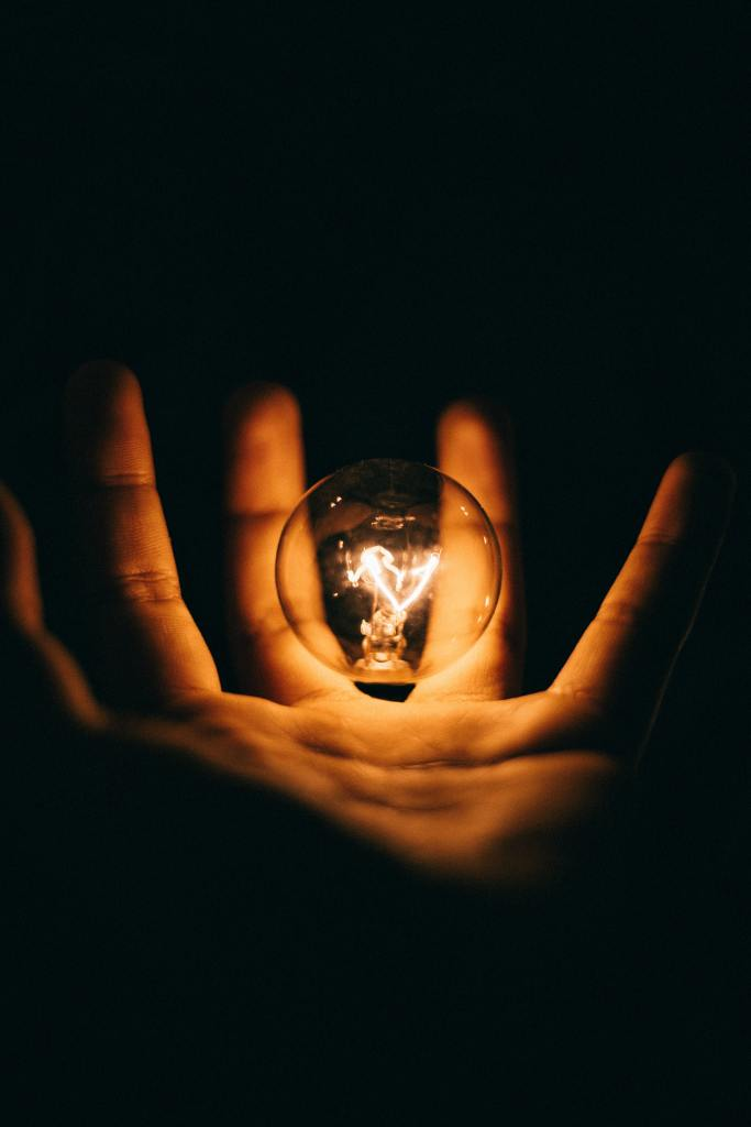 A Bulb glowing as We Provide RPA Solutions, Automation Advice, help your team in RPA Technology and introduce best RPA tools.